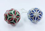 Christmas Bauble - Geometric Peyote Beading Kit Was £24.95